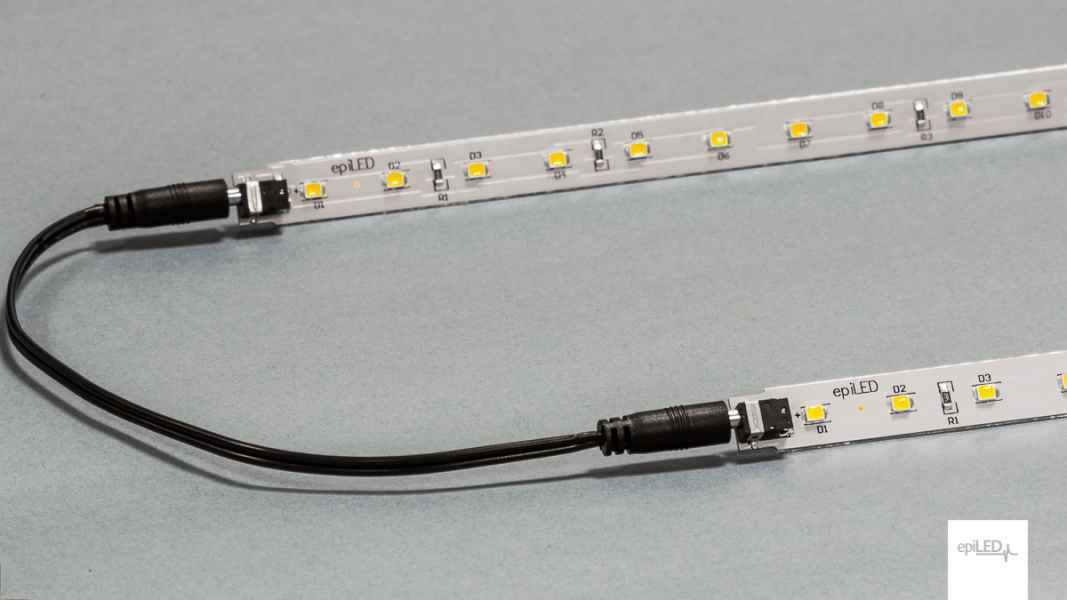 Płytka LED + przewód z konektorami