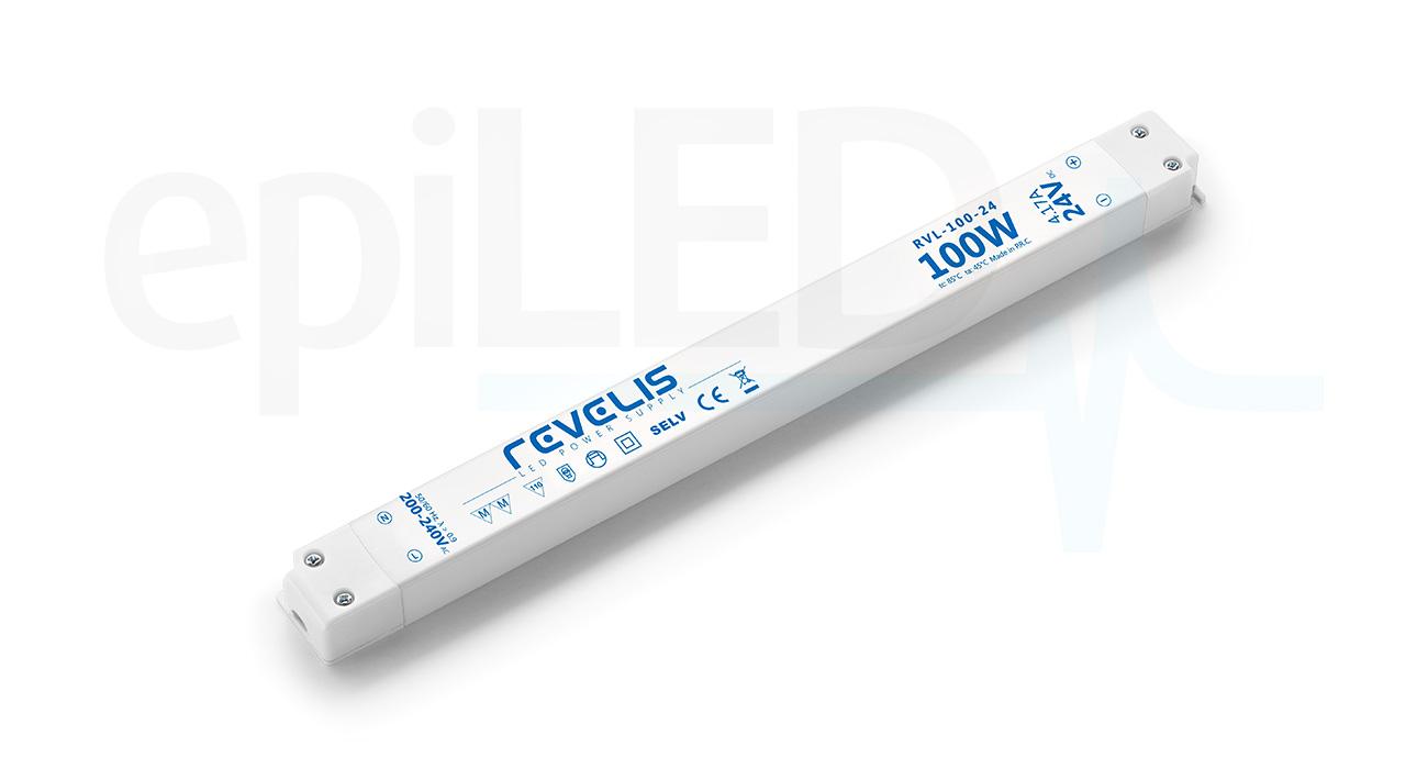 Super Slim Power Supply Revelis RVL-100-24