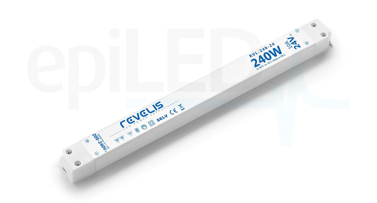 Super Slim Power Supply Revelis RVL-240-24