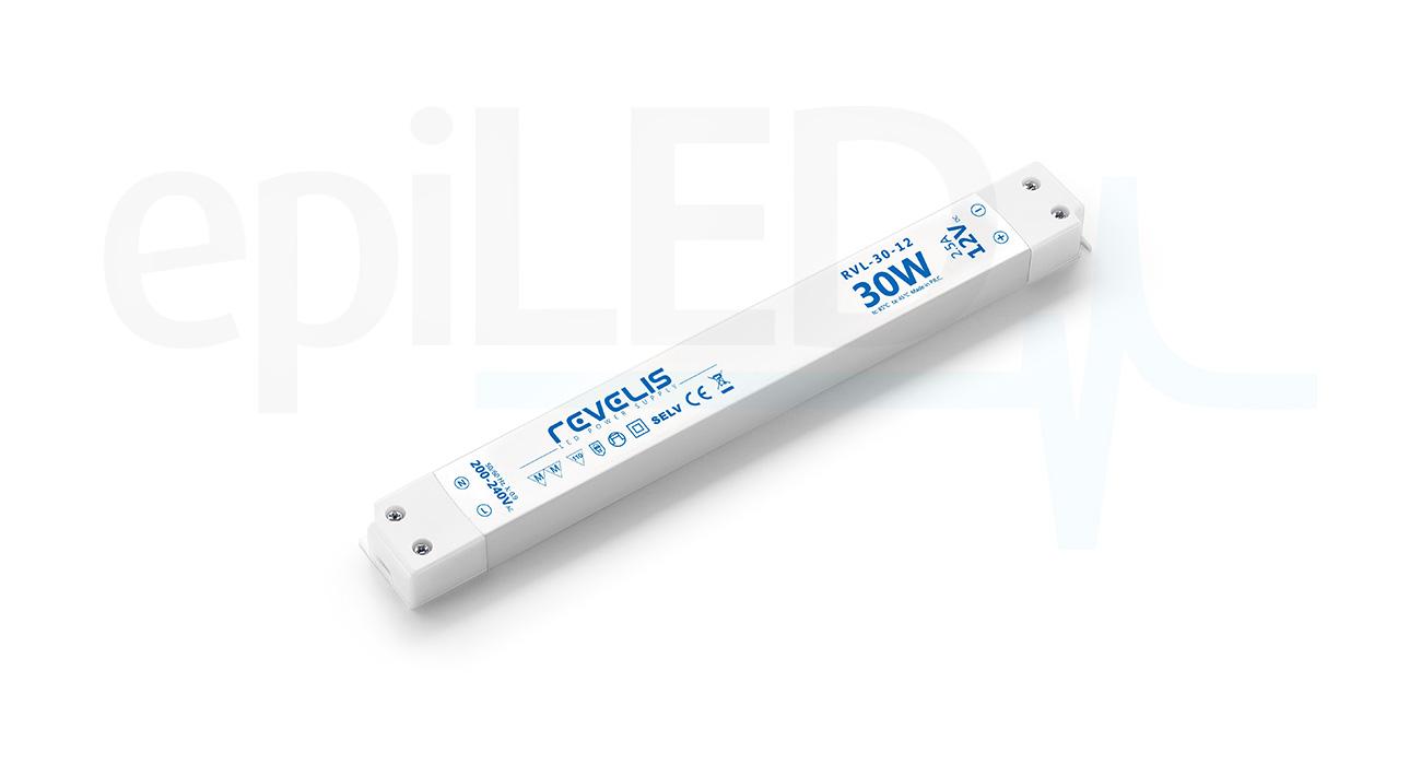Super Slim Power Supply Revelis RVL-30-12