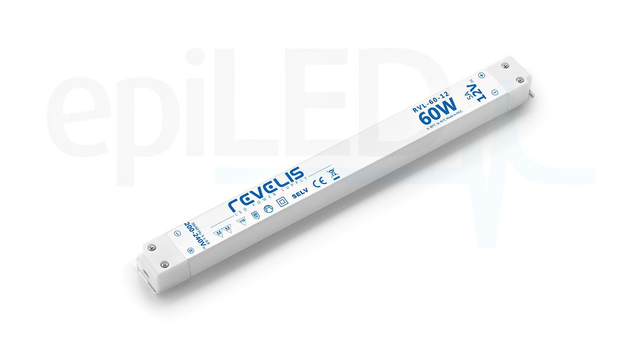 Super Slim Power Supply Revelis RVL-60-12