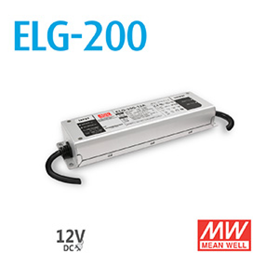 Mean Well Power Supply ELG-200