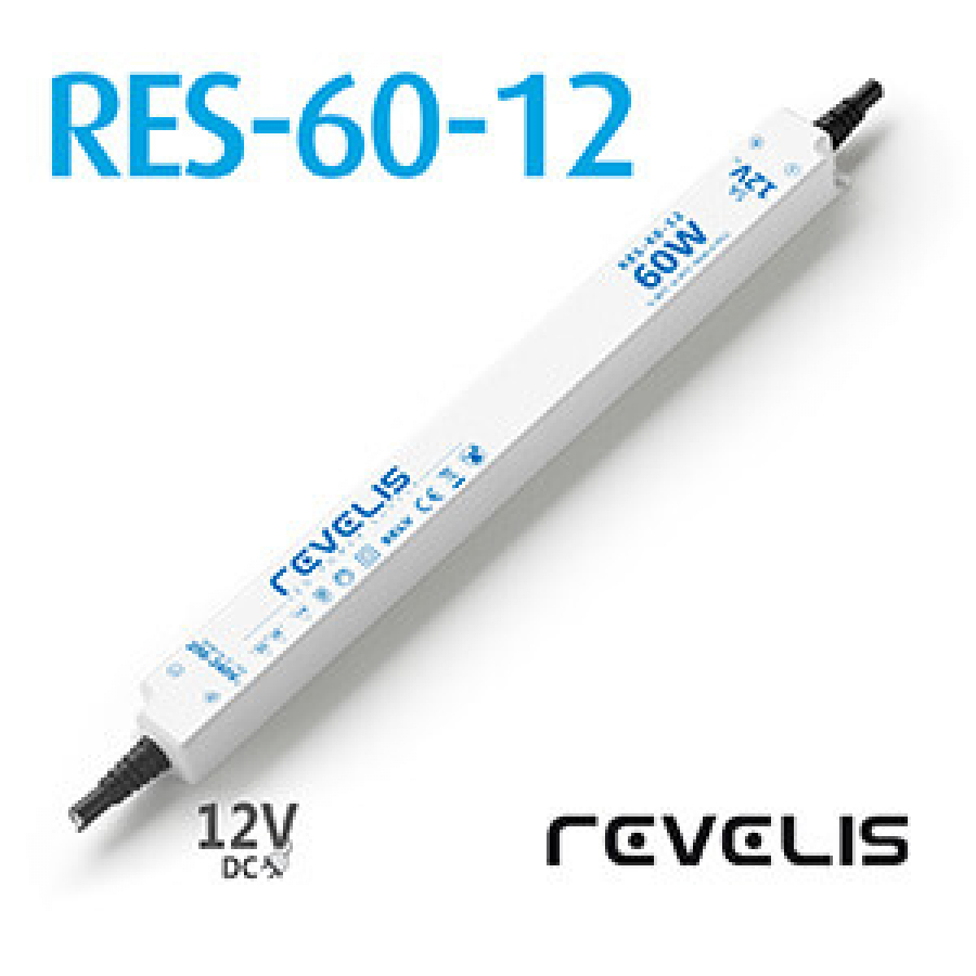 Super Slim Power Supply Revelis RES-60-12