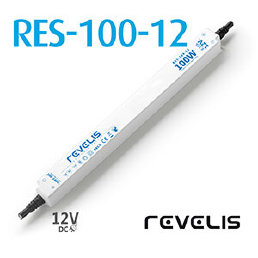 Super Slim Power Supply Revelis RES-100-12